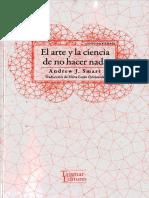 Smart Andrew J - El Arte Y La Ciencia De No Hacer Nada.pdf