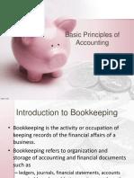Basic Principles of Accounting