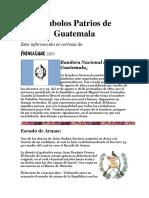 Origen e Historia Simbolos Patrios e Himno Nacional de Guatemala