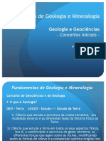 Geologia y Mineralogia