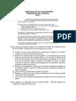 Examen Final de Civil Obligaciones