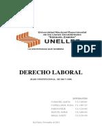 Trab Derecho Laboral Bases Constitucionales