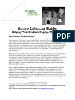 Active Listening Guide