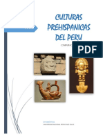 Culturas Prehispánicas del Perú