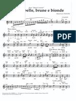 G. Puccini - Tra Voi, Belle, Brune e Bionde (Manon Lescaut)
