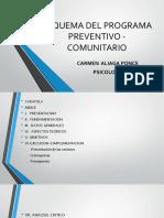 1 Esquema Del Programa Preventivo Comunitario