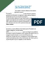 Libreto Acto Fiestas Patrias LORD COCHRANE MAÑANA