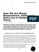 How We Are Moral