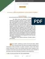 Brazilian Political Institutions_ an Inconclusive Debate