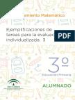 Razonamiento Matematico Alumnado y Profesorado II 3º EP