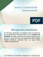 Relaciones y Cooperación Internacional