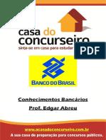 Apostila Conhecimentos Bancários 2015 - Professor Edgar Abreu.pdf