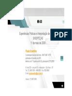 NR-33 - Experiências Práticas e Interpretação de Lacunas (Paula Scardino) - 05353 [ E 1 ]
