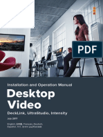 Desktop Video Manual
