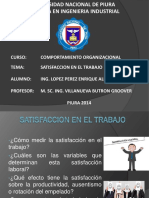 satisfaccion laboral
