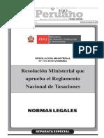 REGLAMENTO NACIONAL DE TASACIONES 2016.pdf