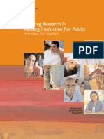 Applying Research in Reading Instruction for Adult