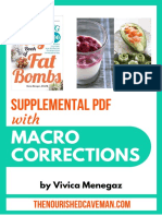 Fat Bombs Supplemental PDF With Macro Corrections