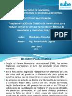 Gestión de Inventarios Para Reducir Costos Logísticos