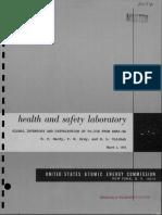 Transit SNAP-9A accident — Pu-238 distribution