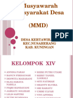 Presentasi Pembekalan Mmd Angkatan III.2