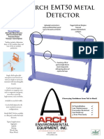 EMT 50 Metal Detector Web