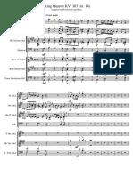 String Quartet KV. 387