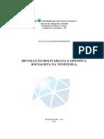 Revolução Bolivariana e a Ofensiva Socialista