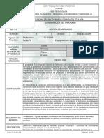 Infome Programa de Formación Titulada gestion de mercados