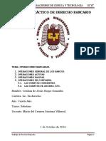 Trabajo Práctico de Derecho Bancario II.
