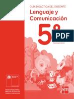 Lenguaje y Comunicación 5º Básico_Guía Didáctica Del Docente Tomo2