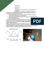 Informe 1 de Laboratoio Fisica 4  fiee unmsm
