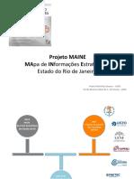 Projeto MAINE - Mapa de Informações Estratégicas do Estado do Rio de Janeiro