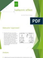 The Photoelectric Effect Diapositivas