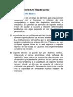 - Soporte Técnico - Conceptos Previos