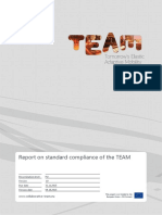 TEAM-WP65-20150910v1.0-DL-Deliverable_D6.5.1 SUPPORT Report on Standard Compliance