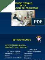 Estudio Tecnico de Proyectos