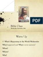 wed sept 20 bible