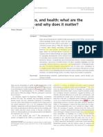 3B Krieger, Gender, Sex, Health, Int J Epi 2003