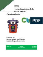 Estado Del Arte de biogas. Gurrola-González