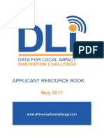 DLI Innovation Challenge Applicant Resource Book