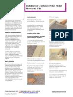 Forbo Installation Instructions Flotex Sheet& Tile 2014 UK