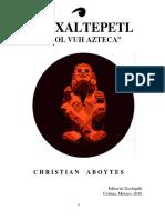 Amoxaltepetl, El Popol Vuh Azteca.pdf