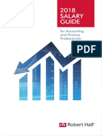 2018 Salary Guide US Accounting and Finance