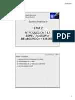 Introduccion a Espectroscopia de Absorcion y Emision