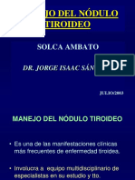 Nodulo Tiroideo Trabajo Final