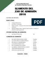 Admision2016_Reglamento