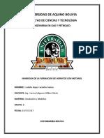 Inhibicion de La Formacion de Hidratos Con Metanol-Cuestionario