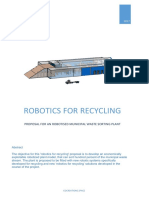 Robotics for Recycling Municipal Pilot Plant