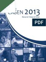Casen 2013 Manual Trabajo de Campo